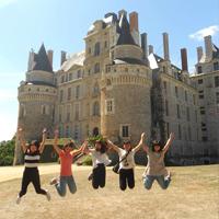 Chateau de Brissac en Anjou