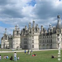 Le château de Chambord, le plus vaste des châteaux de la Loire