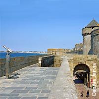 Saint Malo et ses célèbres remparts