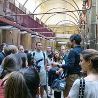 Visite du musée cointreau à Angers