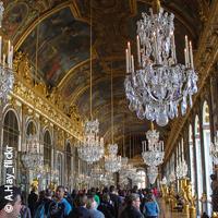 L'unique Galerie des Glaces au Château de Versailles