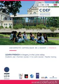 Brochure CIDEF 2018/2019 version française